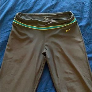 Nike Dry fit workout bottoms.
